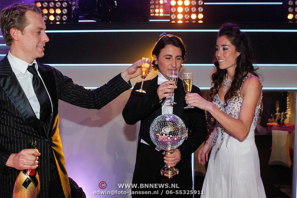 NLD/Hilversum/20121014 - Finale Strictly Come Dancing 2012, Mark van Eeuwen,  Danny Froger en Naomie van As