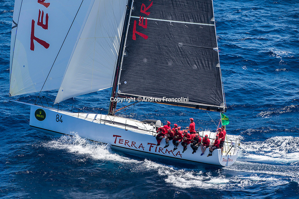 TERRA FIRMA at the start of the 2016 Rolex Sydney to Hobart yacht race<br /> 26/12/2016<br /> ph. Andrea Francolini