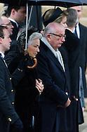 Funérailles de la Reine Fabiola de Belgique, en la cathédrale des Saints Michel et Gudule à Bruxelles.<br /> Belgique, Bruxelles, 12 décembre 2014.<br /> .