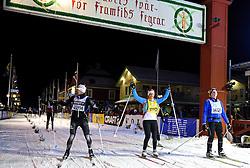 06-03-2016 SWE: Vasaloppet Challenge BvdGF day 7, Sälen<br /> Vandaag een rustig dagje, 90 km langlaufen van Sälen naar Mora in bizarre omstandigheden / Marieke