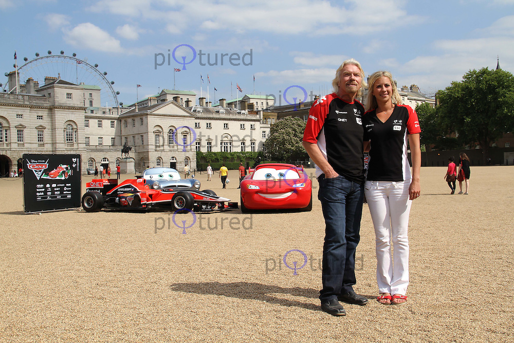 Sir Richard Branson; Holly Branson Virgin Racing - Cars 2 Launch photocall, Horse Guards Parade, London, UK, 04 July 2011:  Contact: Rich@Piqtured.com +44(0)7941 079620 (Picture by Richard Goldschmidt)