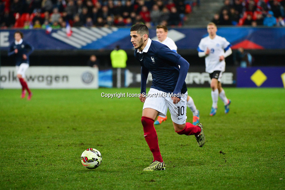 Yassine BENZIA - 25.03.2015 - Football Espoirs - France / Estonie - Match Amical -Valenciennes<br /> Photo : Dave Winter / Icon Sport