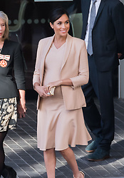 Meghan Duchess of Sussex, makes her first visit as Patron to The National Theatre, meeting staff and apprentices to learn about their work. London, UK on 30 January 2019. CAP/JOR ©JOR/Capital Pictures. 30 Jan 2019 Pictured: Meghan Duchess of Sussex visits National Theatre. Photo credit: JOR/Capital Pictures / MEGA TheMegaAgency.com +1 888 505 6342