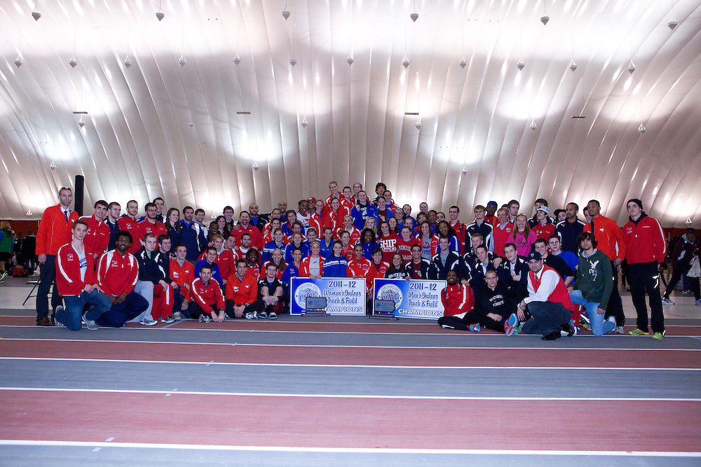 02-26-12: Edinboro, PA - PSAC Indoor Track and Field Championships