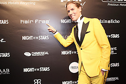 07.09.2013, Stadthalle Aschaffenburg, Aschaffenburg, GER, Night of the Stars, Galanacht mit Showacts, im Bild Mister Hair Free - Jens Hilbert,, ,  // during the gala night of the Night of the Stars at the cityhall in Aschaffenburg, Germany on 2013/09/07. EXPA Pictures © 2013, PhotoCredit: EXPA/ Eibner/ Bildpressehaus<br /> <br /> ***** ATTENTION - OUT OF GER *****