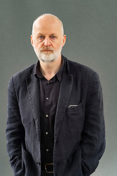 "Edinburgh, Scotland, UK; 19  August, 2018. Pictured; Don Paterson. In his book ""The Poem: Lyric, Sign, Metre"", poet Don Paterson, one of Britain's pre-eminent verse writers provides answers to the questions, Can poetry be understood using the form and techniques of a poem? and how would a modern day poet present a version of Roman poet Horace's Ars Poetica?."