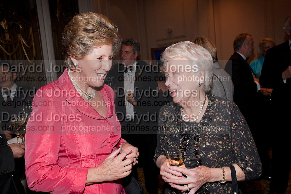 DAME NORMA MAJOR; JUNE WHITFIELD, 80th anniversary gala dinner for the Foyles&Otilde; Literary Lunch. Ballroom. Grosvenor House Hotel. Park Lane. London. 21 October 2010. -DO NOT ARCHIVE-&copy; Copyright Photograph by Dafydd Jones. 248 Clapham Rd. London SW9 0PZ. Tel 0207 820 0771. www.dafjones.com.<br /> DAME NORMA MAJOR; JUNE WHITFIELD, 80th anniversary gala dinner for the Foyles&rsquo; Literary Lunch. Ballroom. Grosvenor House Hotel. Park Lane. London. 21 October 2010. -DO NOT ARCHIVE-&copy; Copyright Photograph by Dafydd Jones. 248 Clapham Rd. London SW9 0PZ. Tel 0207 820 0771. www.dafjones.com.