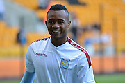 New signing Jordan Ayew during the Pre-Season Friendly match between Wolverhampton Wanderers and Aston Villa at Molineux, Wolverhampton, England on 28 July 2015. Photo by Alan Franklin.