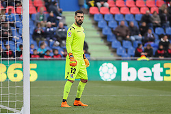 December 15, 2018 - Getafe, Madrid, Spain - Miguel Angel Moya of Real Sociedad in action during La Liga Spanish championship, , football match between Getafe and Real Sociedad, December 15, in Coliseum Alfonso Perez in Getafe, Madrid, Spain. (Credit Image: © AFP7 via ZUMA Wire)