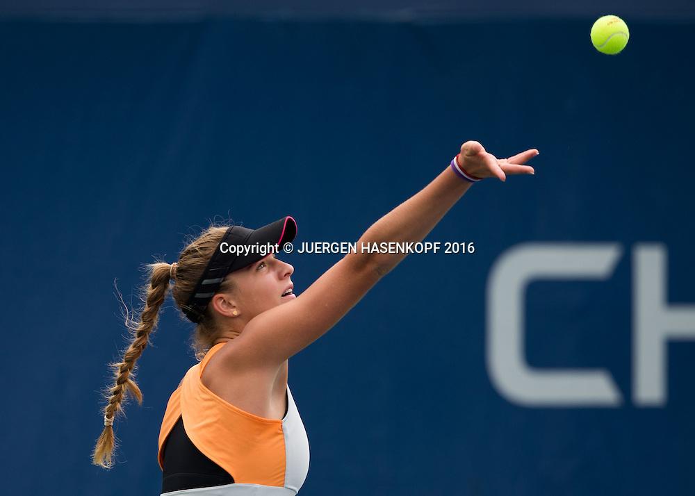 IRINA CANTOS SIEMERS (GER) Junior GS<br /> <br /> Tennis - US Open 2016 - Grand Slam ITF / ATP / WTA -  USTA Billie Jean King National Tennis Center - New York - New York - USA  - 6 September 2016.