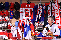 Fan`s store at IIHF WC 2008 in Halifax, on May 09, 2008 in Metro Center, Halifax, Nova Scotia, Canada. Slovakia won 5:1. (Photo by Vid Ponikvar / Sportal Images)