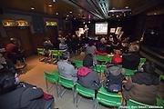 Lancement du livre Shadow Woman – The Extraordinary Career of Pauline Benton, de Grant Hayter-Menzies, durant Les 3 jours de Casteliers - Les arts de la Marionette à  Théâtre d'Outremont / Montreal / Canada / 2014-03-08, Photo © Marc Gibert / adecom.ca