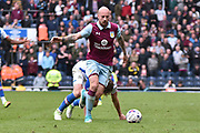Aston Villa Defender, Alan Hutton (21) during the EFL Sky Bet Championship match between Blackburn Rovers and Aston Villa at Ewood Park, Blackburn, England on 29 April 2017. Photo by Mark Pollitt.