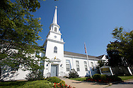 UNITED STATES-CAPE COD-HYANNIS-Church on Mainstreet. PHOTO: GERRIT DE HEUS.VERENIGDE STATEN-CAPE COD-HYANNIS-Kerkje aan Mainstreet, Hyannis. ANP PHOTO COPYRIGHT GERRIT DE HEUS