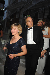 The EARL & COUNTESS OF MARCH at the Ark 2007 charity gala at Marlborough House, Pall Mall, London SW1 on 11th May 2007.<br />