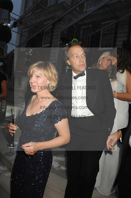 The EARL & COUNTESS OF MARCH at the Ark 2007 charity gala at Marlborough House, Pall Mall, London SW1 on 11th May 2007.<br /><br />NON EXCLUSIVE - WORLD RIGHTS