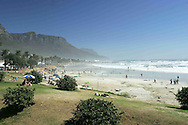 Camps Bay beach and the Twelve Apostles in Cape Town, Western Cape South Africa.Photo by: Ron Gaunt/SPORTZPICS
