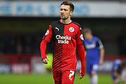 Gwion Edwards of Crawley Town during the Sky Bet League 2 match between Crawley Town and Stevenage at the Checkatrade.com Stadium, Crawley, England on 26 December 2015. Photo by Phil Duncan.