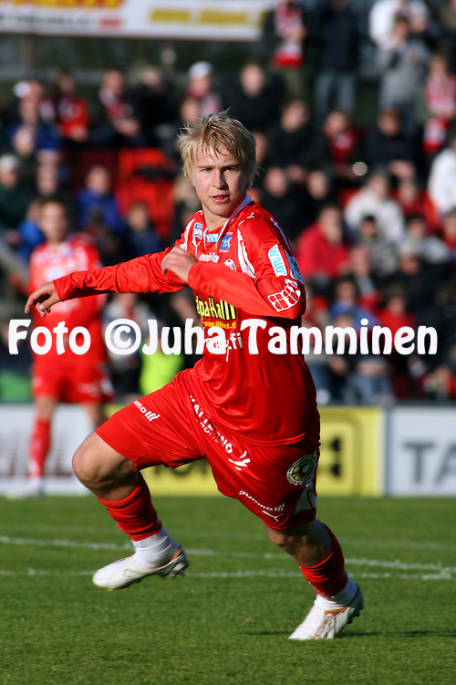 20.05.2007, Hietalahti, Vaasa, Finland..Veikkausliiga 2007 - Finnish League 2007.Vaasan Palloseura - FF Jaro.Jussi Aalto - Jaro.©Juha Tamminen.....ARK:k