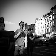 New York . chinatown. street life in  canal street , New York, Manhattan - United states / scenes de rues dans Chinatown et canal street,