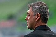 MELBOURNE, VIC - NOVEMBER 09: Wellington Phoenix head coach Mark Rudan looks on at the Hyundai A-League Round 4 soccer match between Melbourne City FC and Wellington Phoenix on November 09, 2018 at AAMI Park in Melbourne, Australia. (Photo by Speed Media/Icon Sportswire)