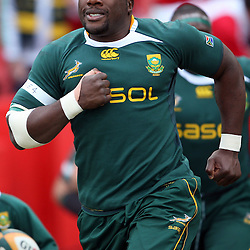 The Beast, Tendai Mtawarira of South Africa  during the British and Irish Lions tour 2009 <br /> LIONS TOUR 2009 SOUTH AFRICA