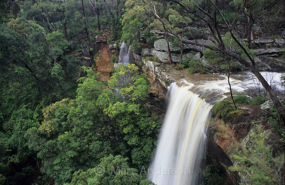 Lower National Falls, Royal National Park, Australia.