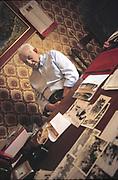 Cicco Barrancotto was an activist of Sicilian peasant movement after the second world war, fighting against landlords and mafia; Polizzi, Madonie mountains, Sicily.<br /> Cicco Barrancotto, uno dei tanti protagonisti delle lotte contadine in Sicilia nel dopoguerra, si scontro'con latifondisti e mafiosi, Polizzi, Palermo.