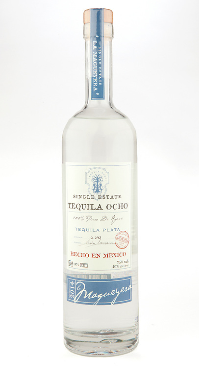Tequila Ocho Plata 2014 - La Magueyera -- Image originally appeared in the Tequila Matchmaker: http://tequilamatchmaker.com