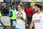 2019, April 17. IJFC, IJsselstein, The Netherlands. Noah Zeeuw at Creators FC - IJFC Legends.