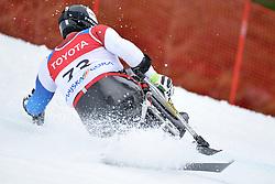 PELIT Murat LW11 SUI at 2018 World Para Alpine Skiing Cup, Kranjska Gora, Slovenia