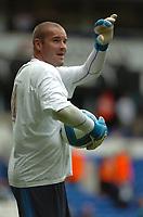 Photo: Tony Oudot.<br /> Tottenham Hotspur v Derby County. The FA Barclays Premiership. 18/08/2007.<br /> Paul Robinson of Tottenham Hotspur