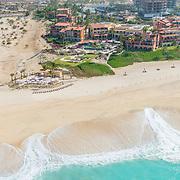 Aerial view of Casa del Mar hotel. Los Cabos, Baja. Mexico.
