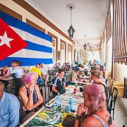 A cafe in Havana, Cuba
