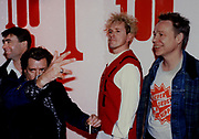 John Lydon and Sex Pistols Reformed .. press conference - London 1996