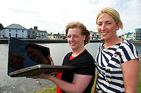 Jacinta Lynam, web activator, and Aishling Hyland, Tír na nÓg. Photo:Andrew Downes.