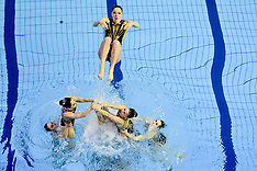 Synchronized Swimming Championships - France - 09 March 2018