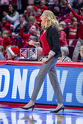 NORMAL, IL - December 20: Kristen Gillespie during a college women's basketball game between the ISU Redbirds and the St. Louis Billikens on December 20 2018 at Redbird Arena in Normal, IL. (Photo by Alan Look)