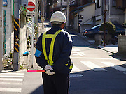 construction traffic regulator Japan