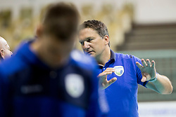 Samo Miklavc, head coach of Slovenia during volleyball match between national teams of Slovenia and Turkey of 2018 CEV volleyball Godlen European League, on May 27, 2018 in Sports hall Tabor, Maribor, Slovenia. Photo by Urban Urbanc / Sportida