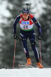 Tim Burke (USA) at Men 20 km Individual at E.ON Ruhrgas IBU World Cup Biathlon in Hochfilzen (replacement Pokljuka), on December 18, 2008, in Hochfilzen, Austria. (Photo by Vid Ponikvar / Sportida)