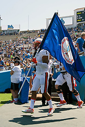 PASADENA, CA - SEPTEMBER 04:  The Virginia Cavaliers enter the field before the game against the UCLA Bruins at the Rose Bowl on September 4, 2015 in Pasadena, California. The UCLA Bruins defeated the Virginia Cavaliers 34-16.  Special to the Daily Progress/Jason O. Watson