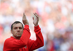 MOSCOW, July 1, 2018  Artem Dzyuba of Russia is seen prior to the 2018 FIFA World Cup round of 16 match between Spain and Russia in Moscow, Russia, July 1, 2018. (Credit Image: © Cao Can/Xinhua via ZUMA Wire)