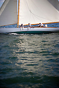NY 30 Class Alera racing at the Museum of Yachting Classic Yacht Regatta