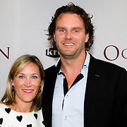 NLD/Amsterdam/20140630 - Premiere Oorlogsgeheimen, David-Jan Bijker (Producent - Bijker Film & TV)  en partner