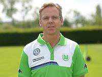 German Soccer Bundesliga 2015/16 - Photocall of VfL Wolfsburg on 16 July 2015 at the Volkswagen-Arena in Wolfsburg, Germany: team-doctor Gunter Wilhelm