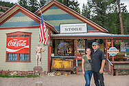 Michael and Lisa Schlueter, owners of the Redstone General Store in Redstone, Colorado.
