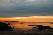 Plum Cove at sunset,Gloucester,MA