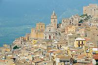 Italie, Sicile, Region de palerme, Village de Caccamo // Italy, Italia, Sicily, Sicilia, Palermo district, Caccamo