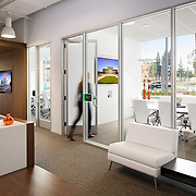 Lionakis Newport Office Office infrastructure- architectural and Interior Photography example of Chip Allen's work.